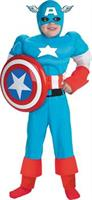 Capt America Dlx Muscle