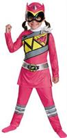 Girl's Pink Ranger Dino Charge Costume