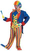 Adult Plus Size Clown Costume