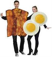 Food & Drinks Costumes White