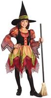 Girl's Fairy Witch Costume