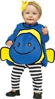 Blue Fish Infant 12-24 Mo Costume