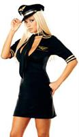 Women's Stewardess Costume