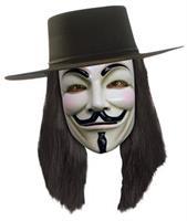 V For Vendetta Hats, Wigs & Masks