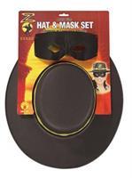 Zorro Hats, Wigs & Masks