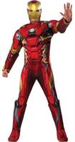 Iron Man Costumes Red