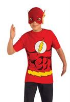 Flash Child Shirt and Mask Costume