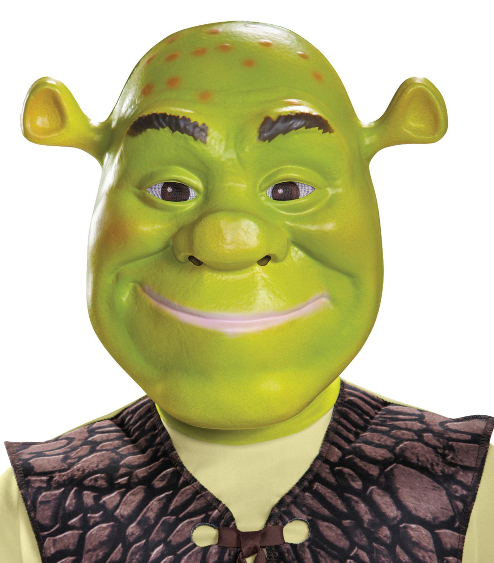 Child Shrek Mask Costumepub Com