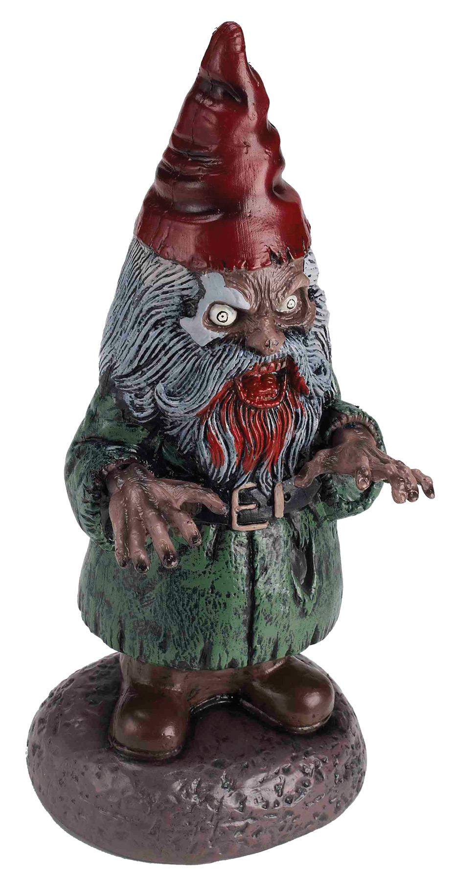 Gnome In Garden: Zombie Garden Gnome Decoration