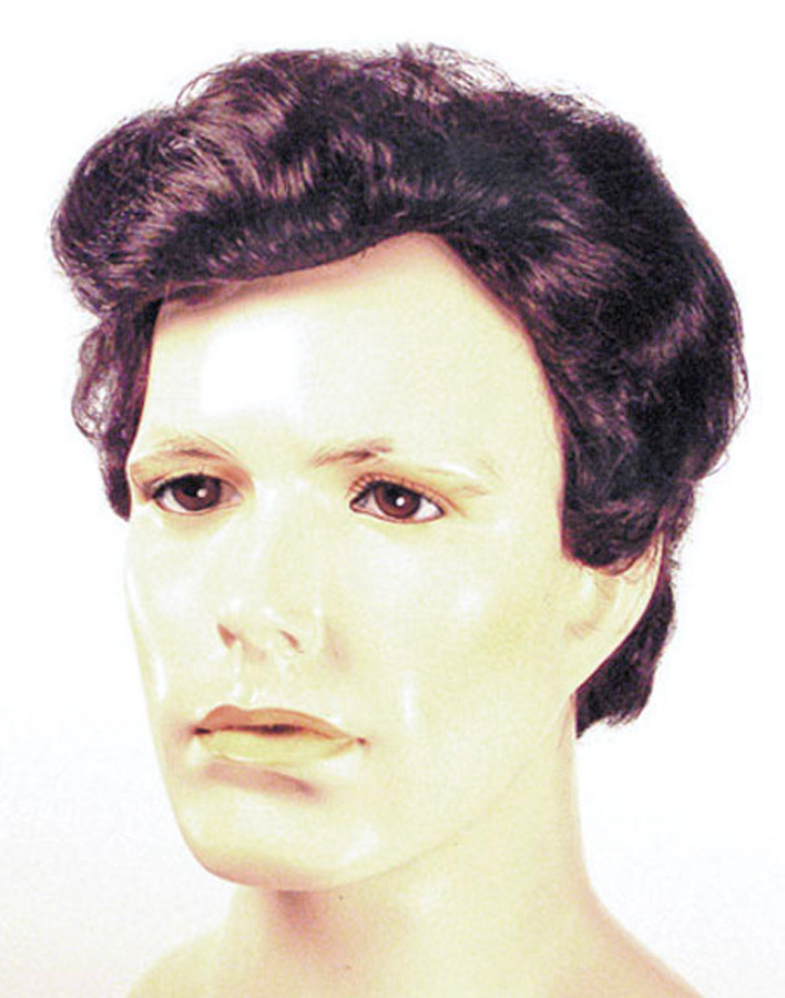 greaser men wig black grey costumepubcom