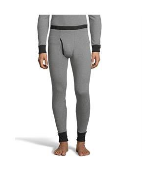 Hanes Men's 2-color Fusion Knit Thermal Pant