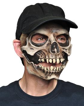 Men's Skull Cap Mask - One Size for Halloween