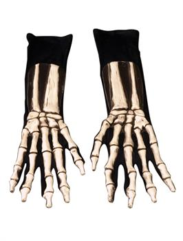 Men's Skeleton Gloves - One Size