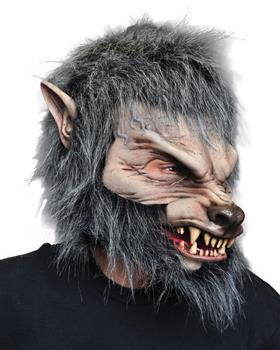 Men's Great Wolf Mask - Standard for Halloween