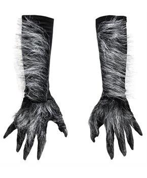 Women's Gray Werewolf Hands - One Size