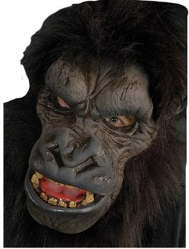 Men's Gorilla Latex Mask - Multi - One Size
