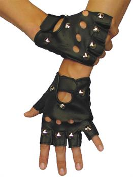 Men's Biker Gloves - One Size