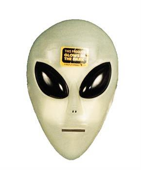 Alien Mask - One size fits most for Halloween