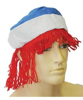 Men's Raggedy Andy Wig - One Size