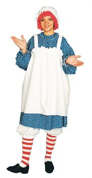 Women's Raggedy Ann Costume - 10-14 for Halloween