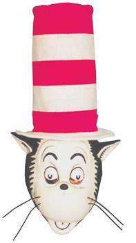 Cat In The Hat Mask and Hat