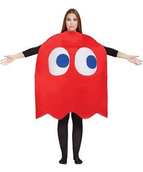 PAC MAN BLINKY GHOST ADULT Costume