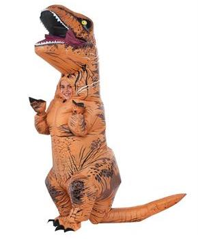 Jurassic World Inflatable T Rex Child Costume