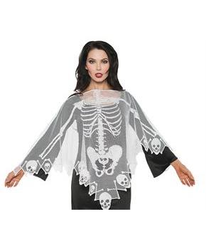 Women's Lace Skeleton Poncho