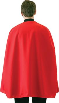 Red Superhero Cape - Red - 36 Inches for Halloween