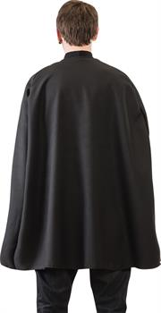 Black Superhero Cape Adult 36I
