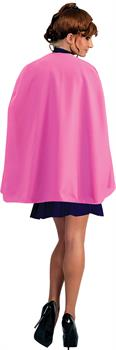 Pink Superhero Cape - One size fits most adults