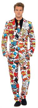 Men's Comic Strip Costume