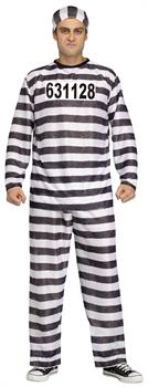 Men's Convict Man Costume