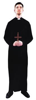 Men's Priest Costume