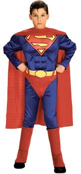 Superman Muscle Boy's Costume