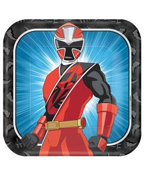 POWER RANGERS NS SQUARE PLATES