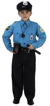 Police Suit Small 4 To 6