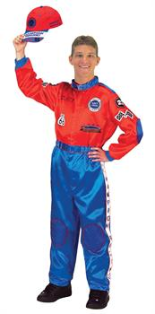 Men's Car Racing Costume