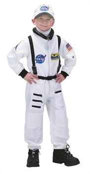 Unisex Astronaut Child Suit Costume