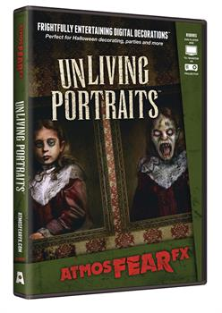 AtmosFEARfx Unliving Portaits DVD - Multi - One Size for Halloween