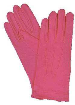 Hot Pink Gloves w/Snap