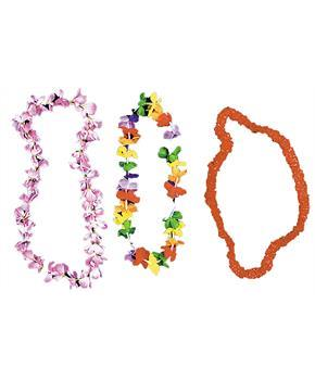 Silk Flower Leis