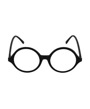 Professor Glasses - Black, Clear - One Size