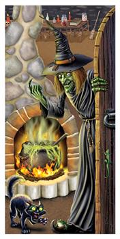 Witch Brew Door Cover