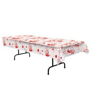 Bloody Handprints Tablecover - Standard