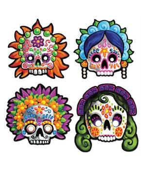 Day Of The Dead Masks - One size fits most