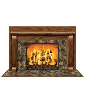 Insta-View Fireplace Decoration