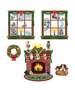 Indoor Christmas Decor Cut Outs - Standard