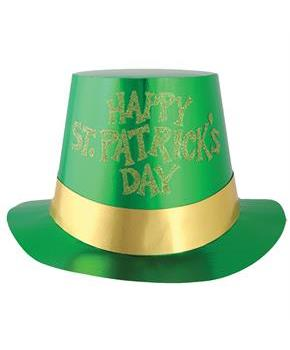 Glittered St Patricks Day 5 Pk