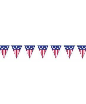 USA Pennant Banner